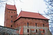 Trakai Castle side view