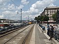 Tram 2 along the riverside 2014.jpg