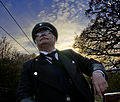 Tram conductor, Beamish Museum, 16 April 2011.jpg