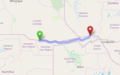 Trans-Caprivi highway, Namibia and Zambia - OpenStreetMap.png