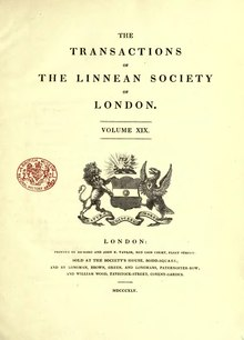 Transactions of the Linnean Society of London, Volume 19.djvu