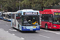 Transport NSW liveried (2607 ST), operated by Sydney Buses, Bustech VST bodied Scania K280UB on Loftus Street in Circular Quay.jpg