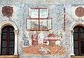 Trento, palazzo geremia, con affreschi di scuola veronese o vicentina del 1490-1510 ca. 07.jpg