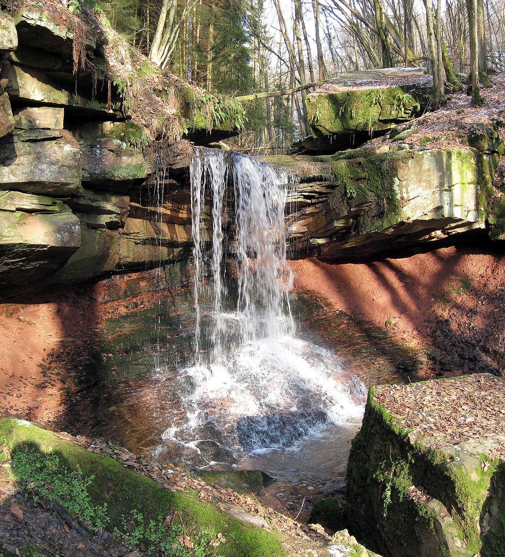 Stein Wasserfall