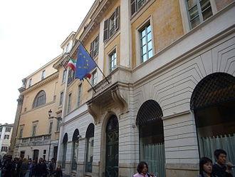 Istituto Nazionale per la Grafica - Image: Trevi pal Poli Calcografia naz 1190172