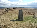 Trig point and cairns on Skipton Moor. - geograph.org.uk - 152874.jpg