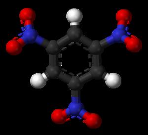 1,3,5-Trinitrobenzene - Image: Trinitrobenzene 3D balls