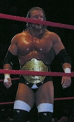 Triple H como Campeón Mundial de Peso Pesado