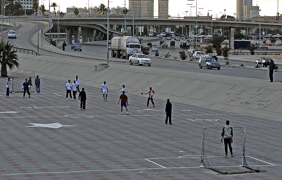 Tripoli Libya Flyover