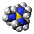 Tris(dimethylamino)sulfonium cation spacefill.png