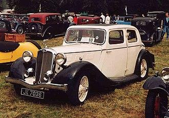 Triumph Motor Company - 1934 Triumph Gloria Six