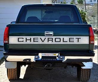 Chevrolet Silverado - 1997 Silverado trim package on C/K pickup