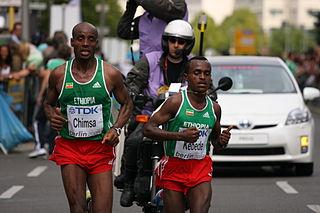 Deressa Chimsa Ethiopian long-distance runner