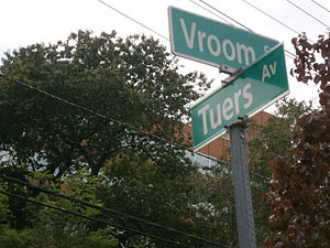 Jane Tuers - Street names near Bergen Square recall the early settlers