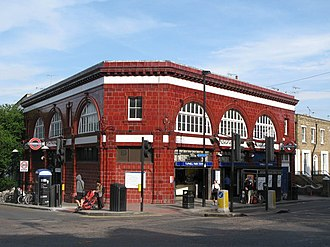 Charing Cross, Euston and Hampstead Railway - Image: Tufnell Park tube station geograph.org.uk 1440226