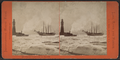 Tug and vessel in the ice, May 1869, by Pond, C. L. (Charles L.).png