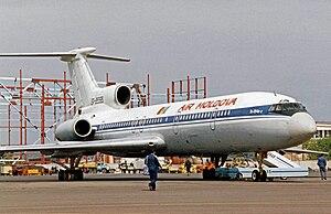 Air Moldova - Air Moldova Tupolev Tu-154 in 1994