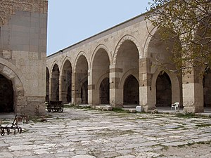 Aksaray Province - Inner courtyard of the Sultanhanı caravanserai