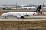 Turkish Airlines, TC-JHC, Boeing 737-8F2 (31847860251).jpg