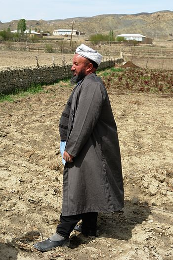 English: Turkmen Moslem Mullah, Nohur village,...