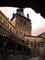 Turnul cu Ceas - centrul vechi Sighisoara.JPG