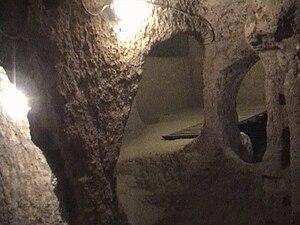 Kaymaklı Underground City - Cappadocia, Turkey