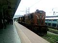 Twin WDM3A Series locos at Secunderabad.jpg