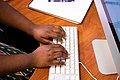 Typing On Apple Desktop Keyboard.jpg