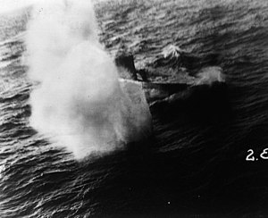 German submarine U-159 (1941) - U-159 attacked and sunk by a PBM-3C of VP-32 on 28 July 1943.