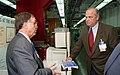 U.S. Senate Fred Thompson with Bill Appleton at HFIR 1996 Oak Ridge (22593539890).jpg
