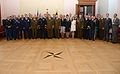 U.S. Soldiers and Airmen with the Maryland National Guard and members of the Estonian Defense League pose for a photo during Saber Strike 2013 in Raplamaa, Estonia, June 5, 2013 130605-Z-YE885-006.jpg