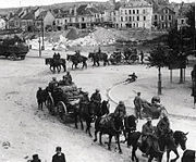 U. S. Field Artillery in Chateau-Thierry