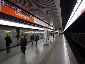 Kardinal Nagl Platz Vienna U Bahn Wikivisually