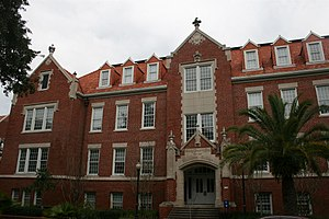 Peabody Hall (Gainesville, Florida) - Image: UF Historic Building Peabody Hall