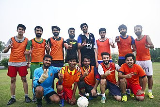 University of Management and Technology (Lahore) - Image: UMT Football team