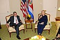 UNGA 2009- Secretary Clinton Meets With Costa Rican President (3954433958).jpg