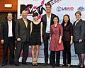 USAID, MTV EXIT Press Launch, March 23, 2010 (5257209658).jpg