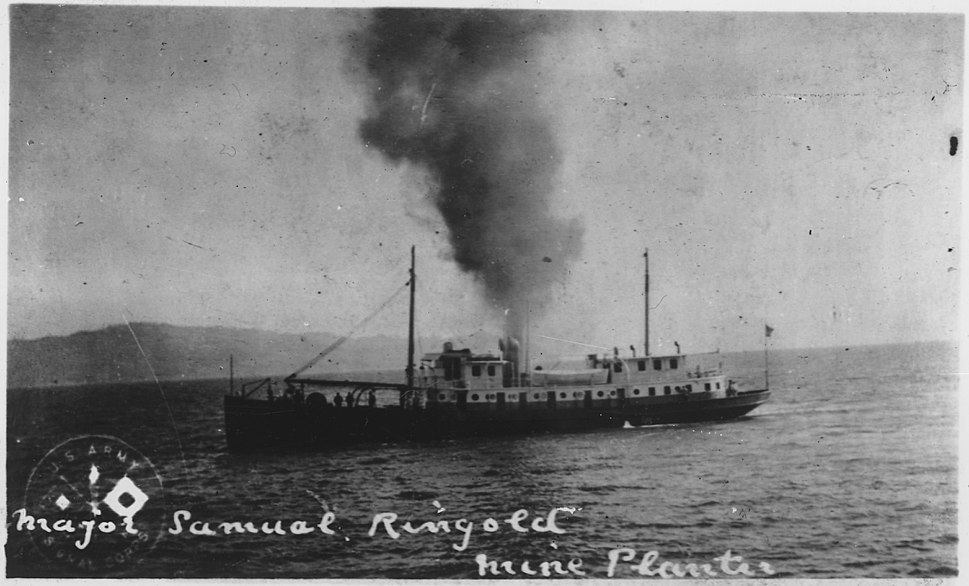 USAMP RINGGOLD which planted practice groups of mines inthe Columbia River during the 1920's. - NARA - 299666