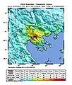 USGS Shakemap - 1978 Thessaloniki earthquake.jpg