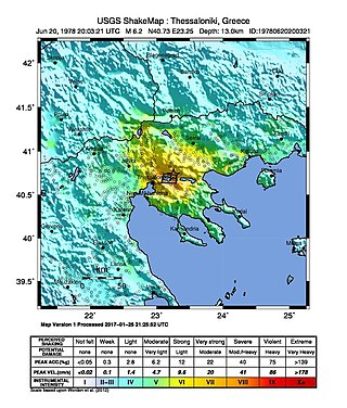 1978 Thessaloniki earthquake