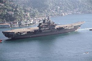 Chinese aircraft carrier programme - Liaoning before refurbishment