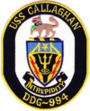 USS Callaghan (DDG-994) crest.png
