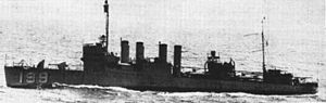 USS Dallas (DD-199) - Image: USS Dallas (DD 199) underway in 1920s or 1930s
