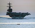 USS George H.W. Bush (CVN-77) transits the Strait of Hormuz on 28 April 2014 (140428-N-PJ969-027).jpg