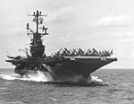 USS Intrepid (CVS-11) underway in the South China Sea on 13 September 1966 (K-33170).jpg