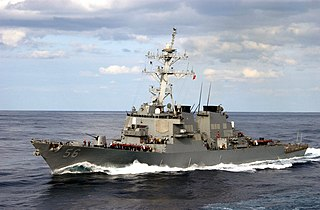 USS <i>John S. McCain</i> (DDG-56) US Navy Arleigh Burke-class destroyer