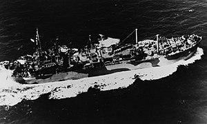 USS Myrmidon (ARL-16) - Image: USS MYRMIDON ARL 16
