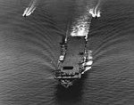 USS Ticonderoga (CV-14) underway in Hampton Roads on 30 June 1944.jpg