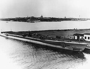 USS Turbot (SS-427), circa 1950