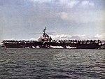 USS Yorktown (CVA-10) at anchor, circa in 1954.jpg